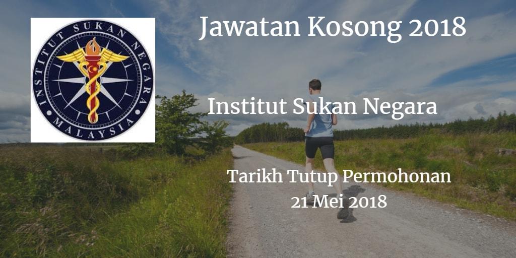 Jawatan Kosong ISN 21 Mei 2018