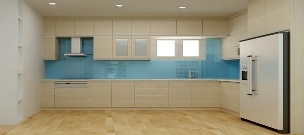 phân chia thông minh được thể hiện qua từng không gian phòng bếp gia đình bạn.