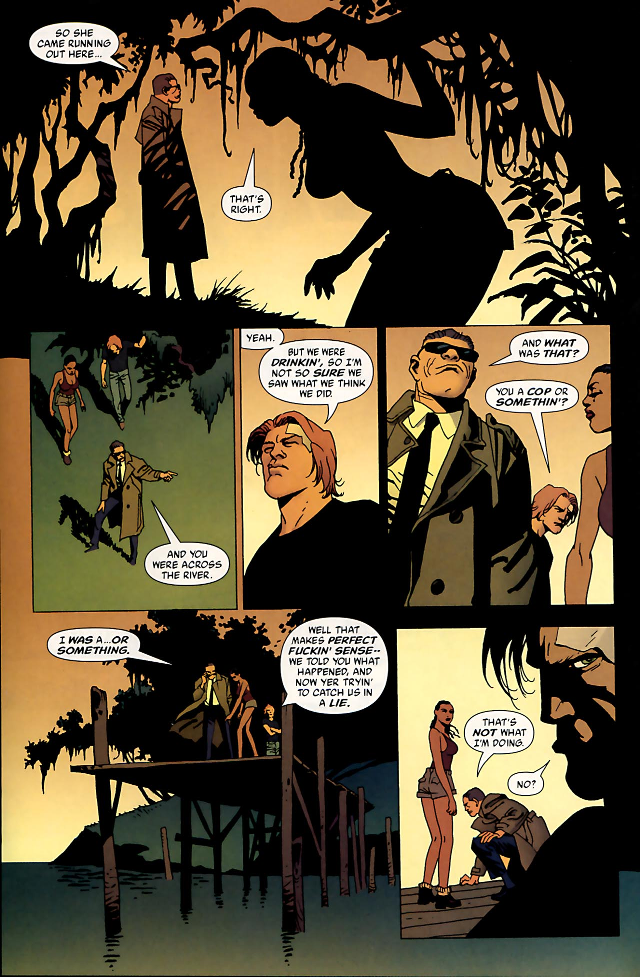 Read online 100 Bullets comic -  Issue #53 - 16