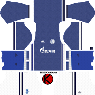 Schalke 04 Kits 2017/18 - Dream League Soccer