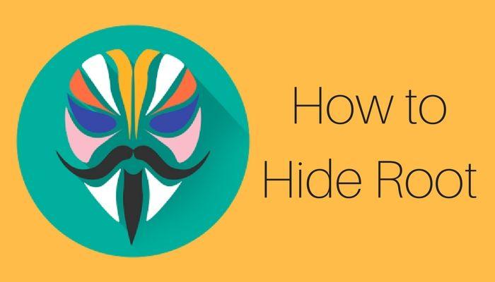 Cara Menyembunyikan Status Root