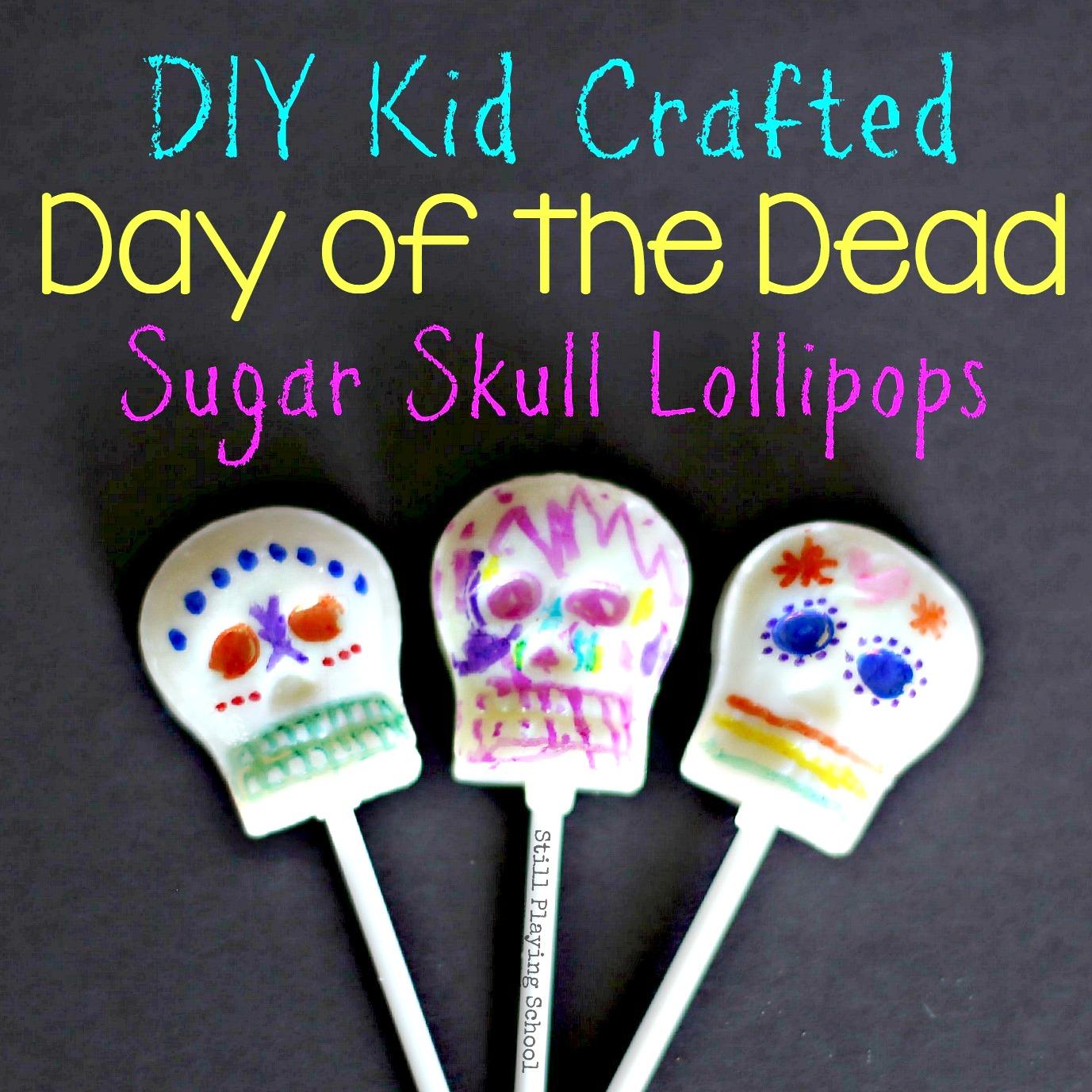 Sugar Skull Craft for Kids