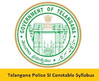 Telangana Police SI Constable Syllabus