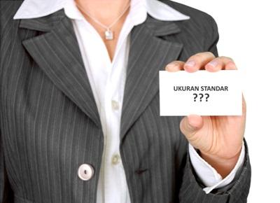 Ukuran Kartu Nama Yang Cocok Untuk Kamu - www.NetterKu.com : Menulis di Internet untuk saling berbagi Ilmu Pengetahuan!