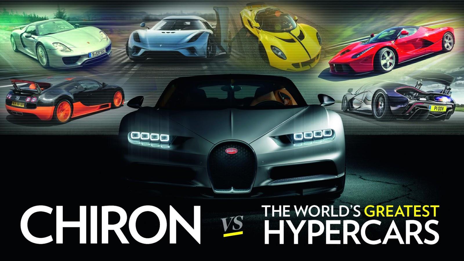 Bugatti Chiron 2017 đang sẵn sàng thiết lập và phá vỡ mọi kỷ lục