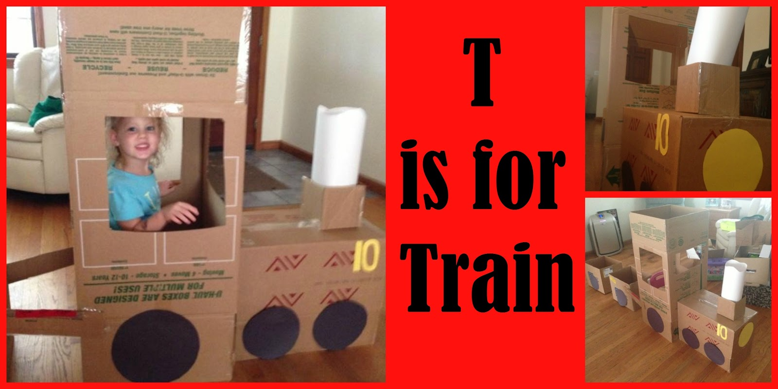Encourage  Play  Learn : T is for Train