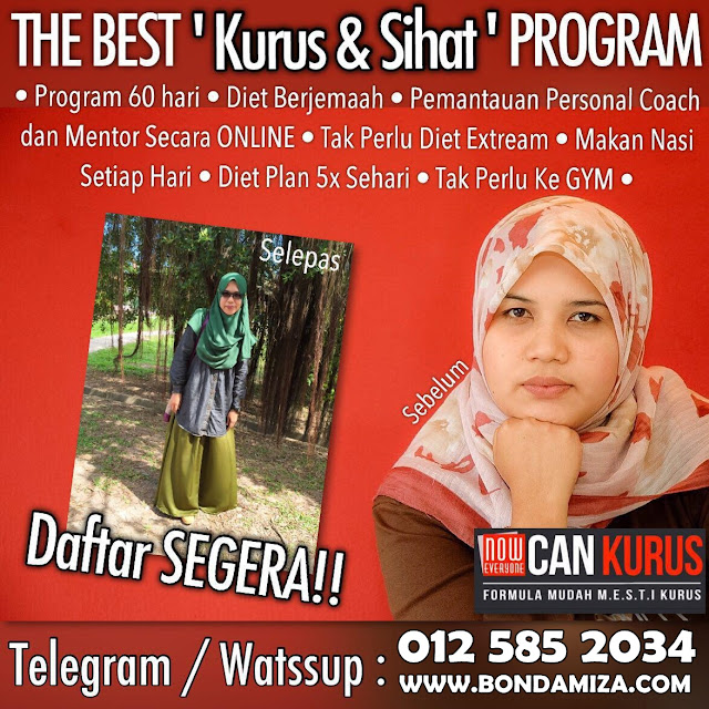 Now Everyone Can Kurus (NECK) ~  Jom Kurus Dari Rumah!