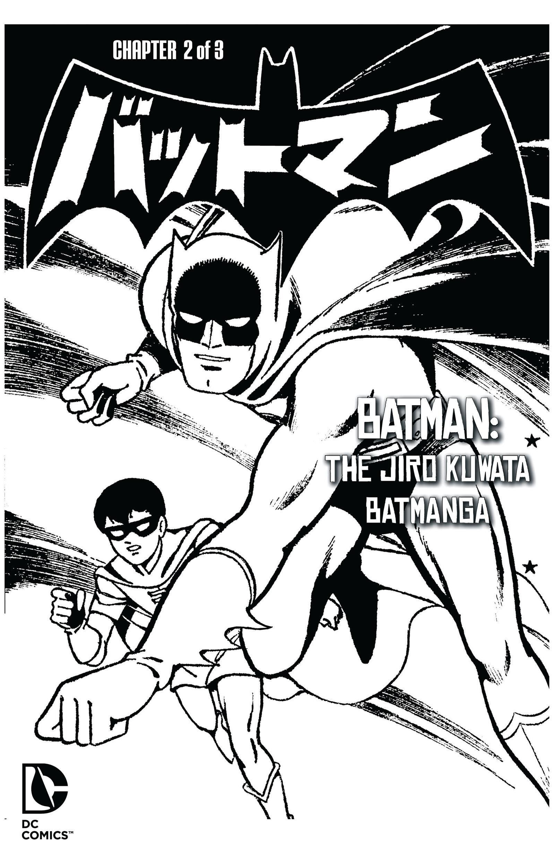 Batman - The Jiro Kuwata Batmanga issue 29 - Page 1