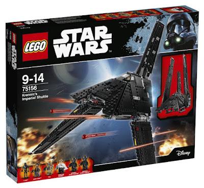 JUGUETES - LEGO Star Wars Rogue One  75156 Lanzadera Imperial de Krennic  2016 | PELICULA | Piezas: 863 | Edad: 9-14 años  Comprar en Amazon España