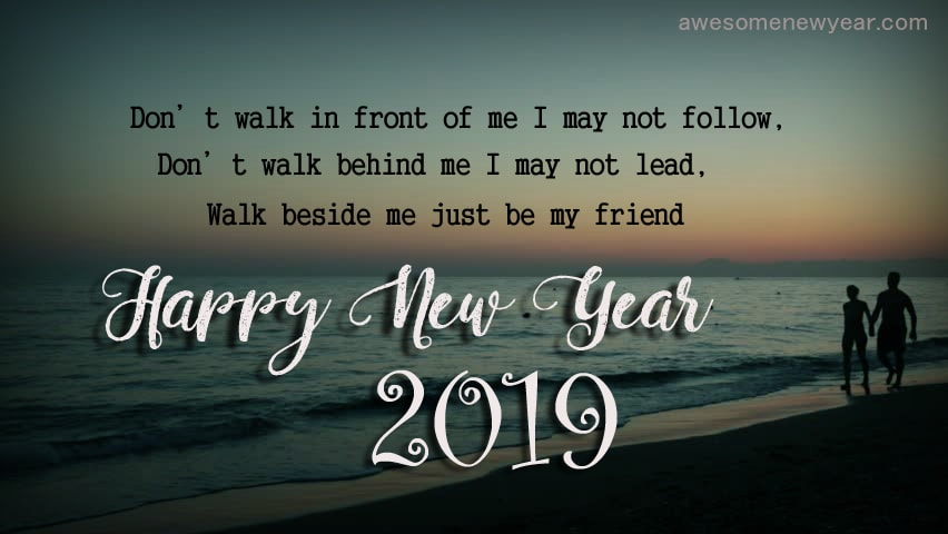 Happy New Year 2019 Wishes Quotes For Friends | Best Wishes