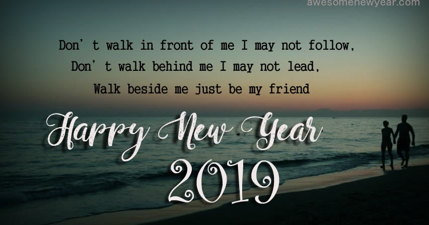 New Years Day Quotes 2019: Happy New Year 2019 Wishes Quotes For Friends