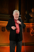 Harrison Birtwistle accepting the Instrumental Solo or Duo award at the 2013 British Composer Awards, photo Mark Allan