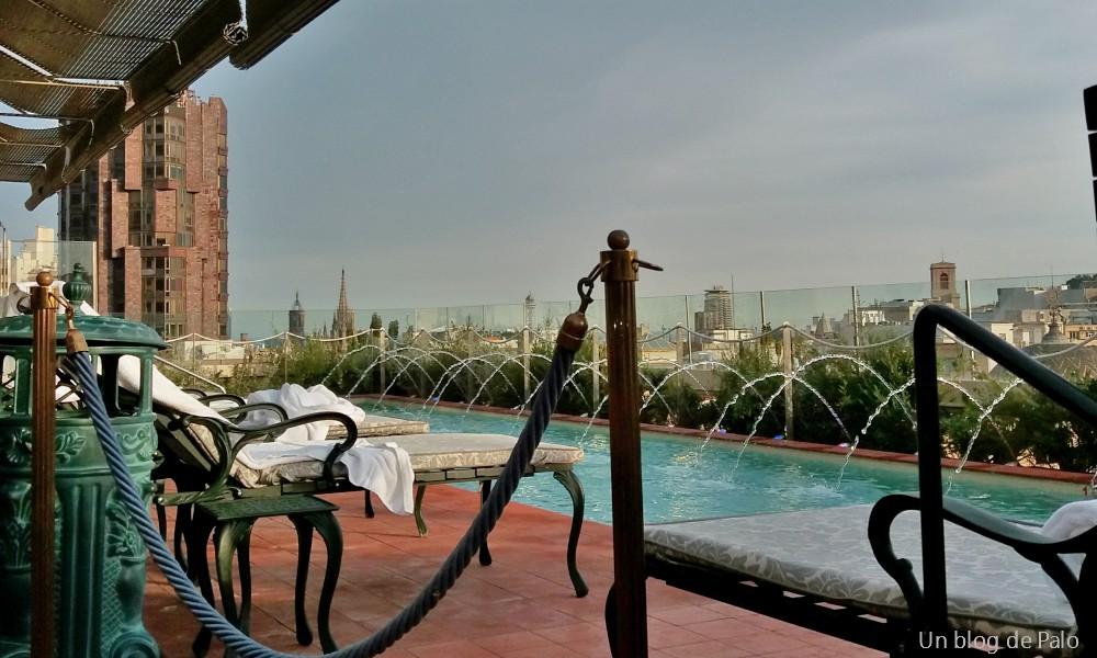 Terrazas de hotel y tapas en barcelona un blog de palo for Hoteles originales cataluna