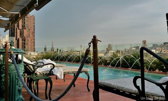 Terrazas de hotel y tapas en Barcelona