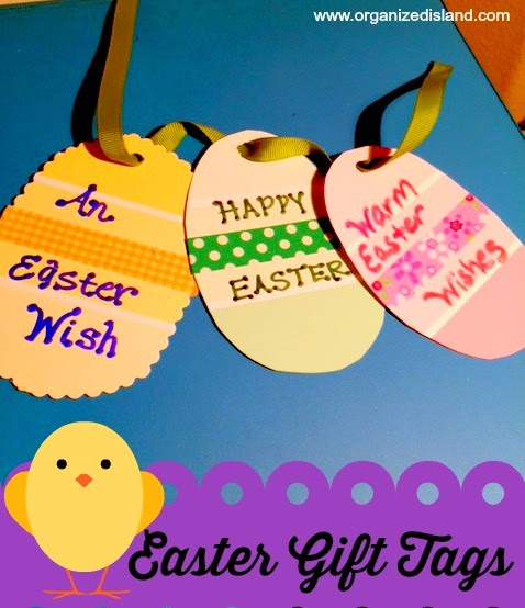 Paint Chip Easter Gift Tags