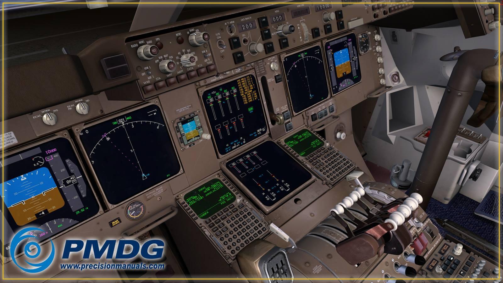 For Love Of Sim: PMDG 747 V3 for Prepar3D V4