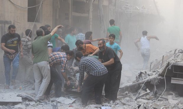 'Hell Itself': Aleppo reels from alleged use of bunker-buster bombs