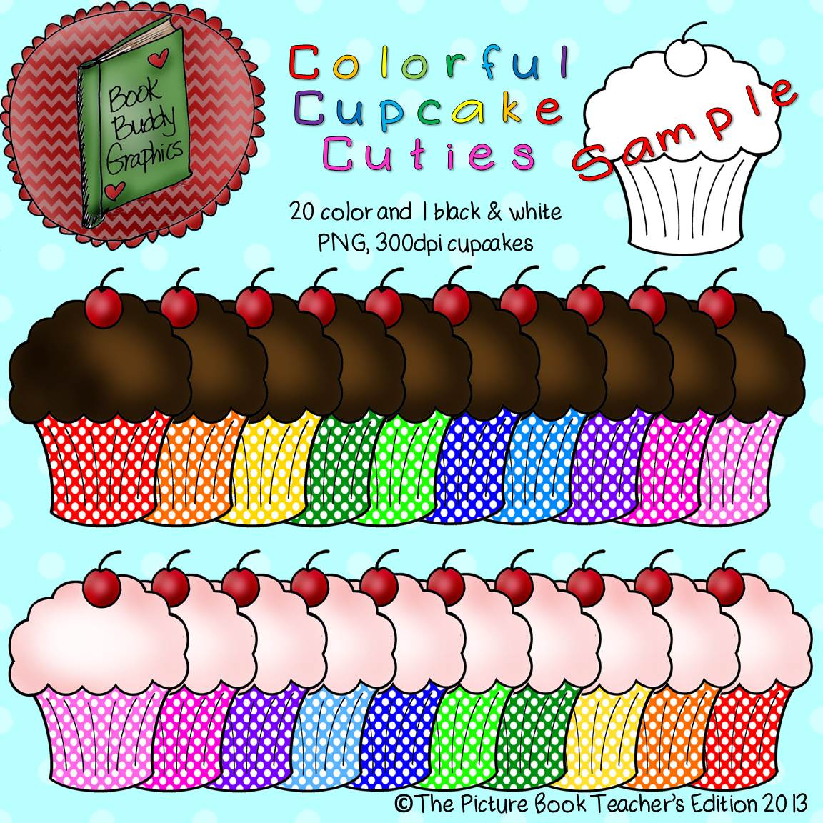 The Picture Book Teacher S Edition Colorful Cupcake Cuties
