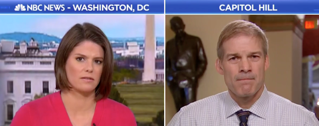 "Kasie Hunt Badgers Jim Jordan Over Tough Immigration Policy — Is It A ""Christian approach."""