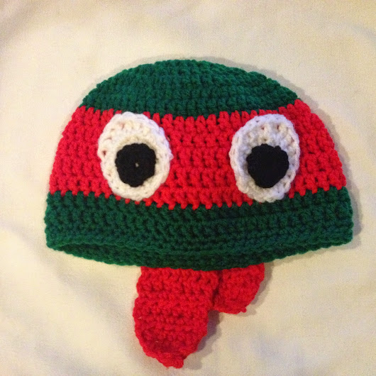 Ninja Turtle Hat Pattern
