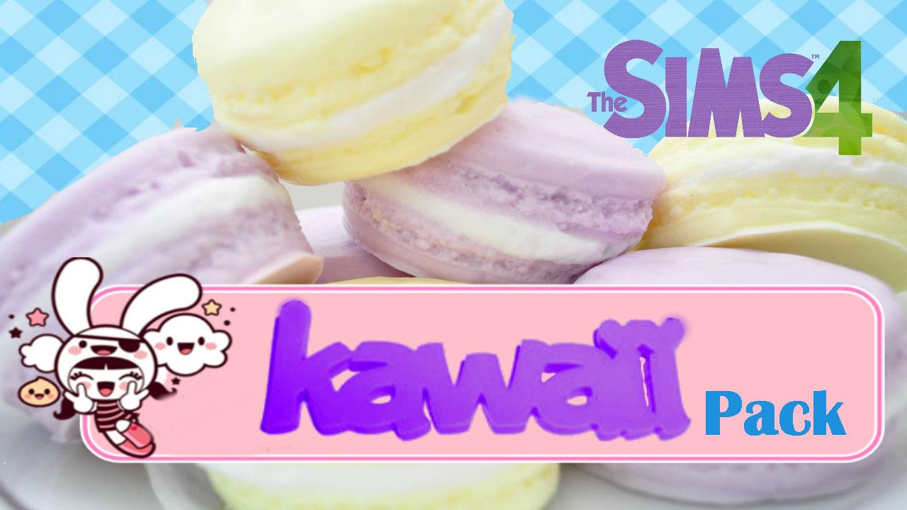 Pack kawaii ryuko sim creations for Cama kawaii