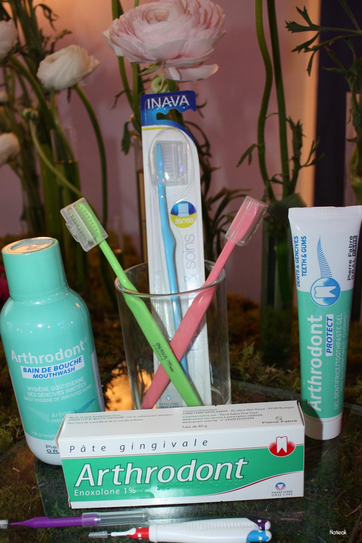 brosse à dent  Inava et soin de bouche Artrodont
