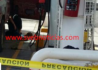 Ejecutan a dos en gasolineria del municipio de Manuel Doblado en Guanajuato