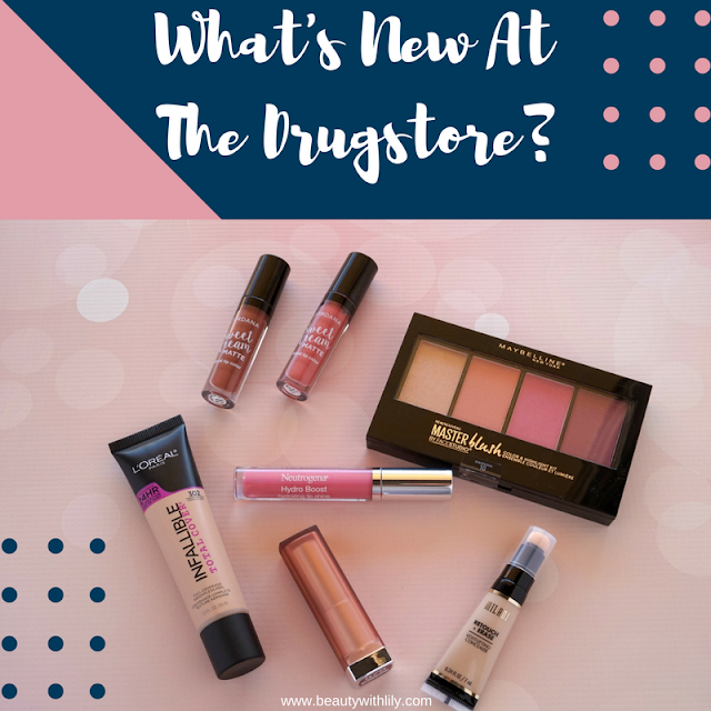 New Spring 2017 Drugstore Makeup Products | beautywithlily.com
