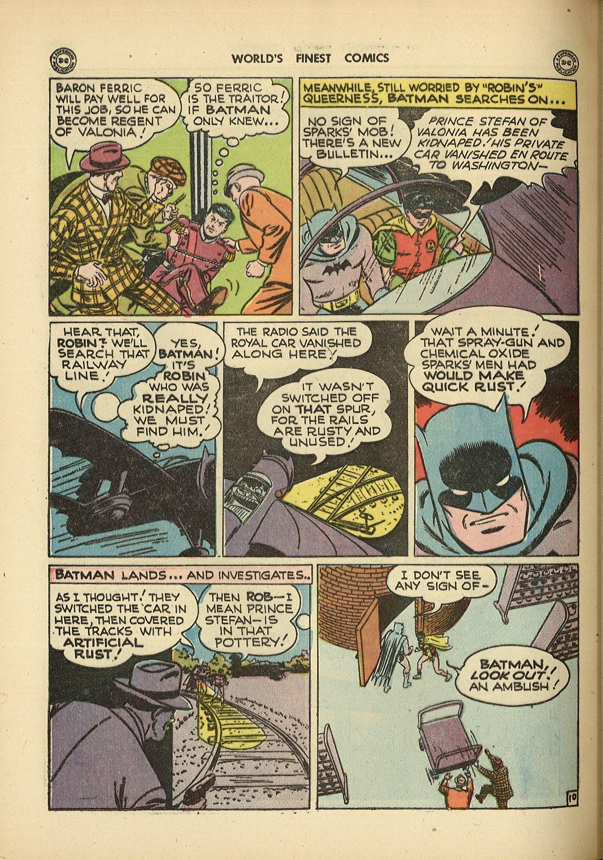 Read online World's Finest Comics comic -  Issue #26 - 70