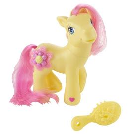 My Little Pony Peach Blossom Crystal Design G3 Pony