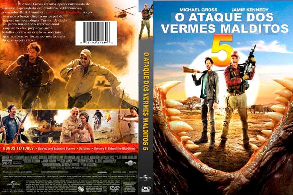 Capas Dvd Sem Pagar: CAPA DVD - O ATAQUE DOS VERMES MALDITOS 5 - 2015
