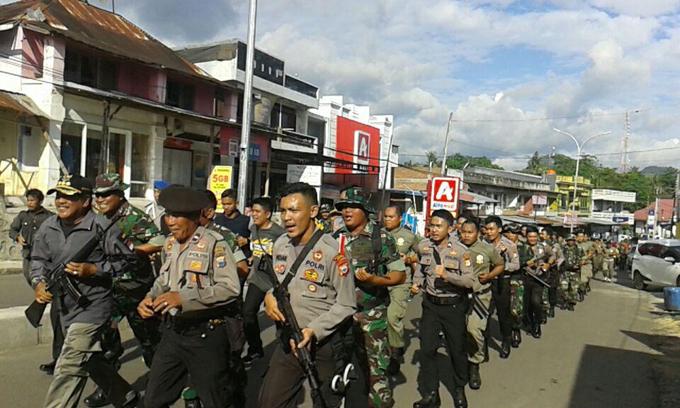 Olahraga Bersama Jadi Ajang Sinegritas Pemda, TNI dan Polri di Soppeng