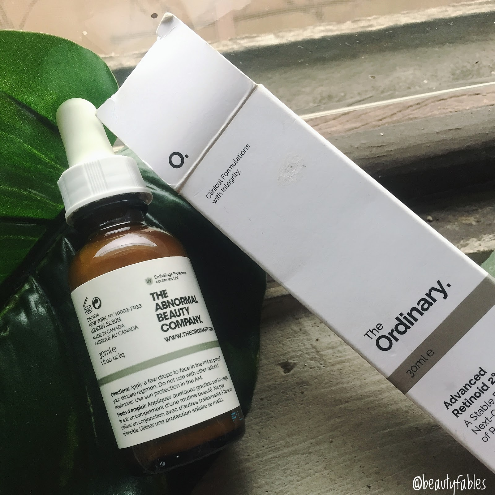 In depth Review of The Advanced Retinoid 2% by The Ordinary Abnormal Beauty Company DECIEM