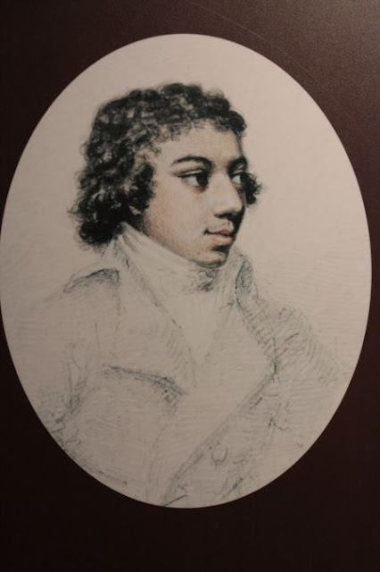 Portrait par Henry Edridge (1769-1821)