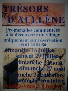 Promenade commentée 'Trésors d'Aullène' le 27 août 2017