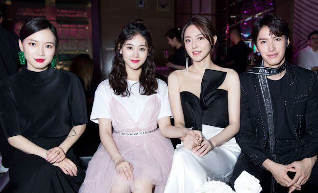Fashion Awards Jaywalk Zhu Xudan, Maggie Huang, Leon Lai