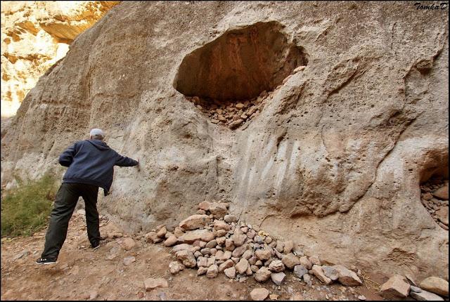 Мегалиты Туркменистана   грот Кырк-Гыз