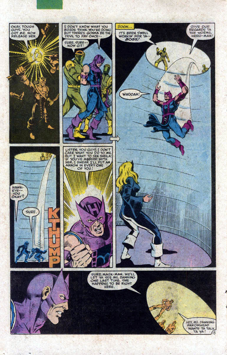 Hawkeye (1983) Issue #1 #1 - English 19