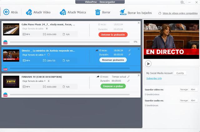 VideoProc imagenes hd