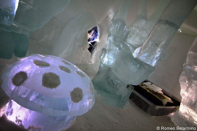 ICEHOTEL Forest Fairy Art Suite Sweden