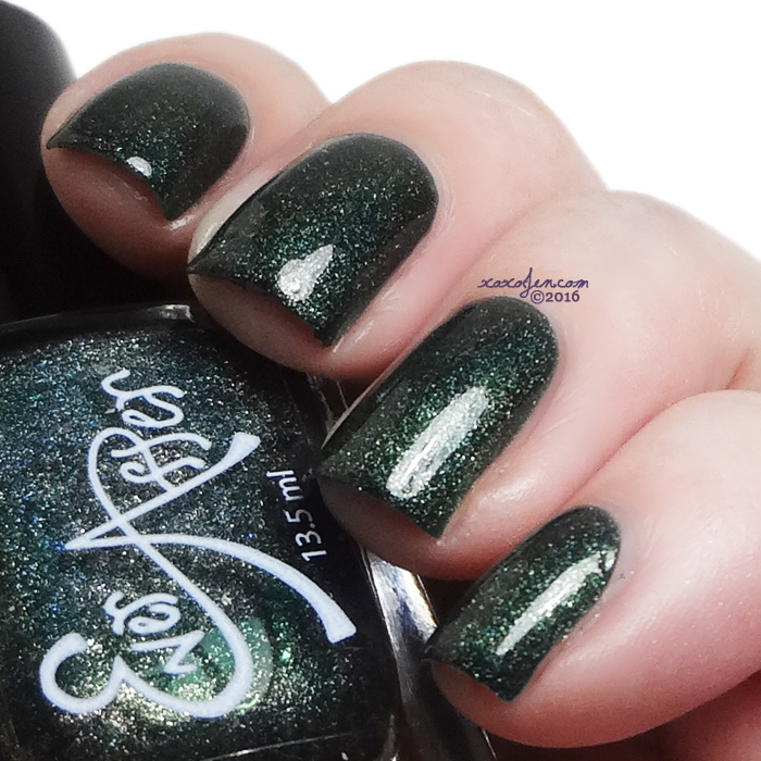 xoxoJen's swatch of Ever After Emerald City