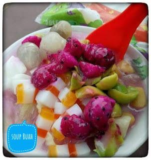 Sup buah naga