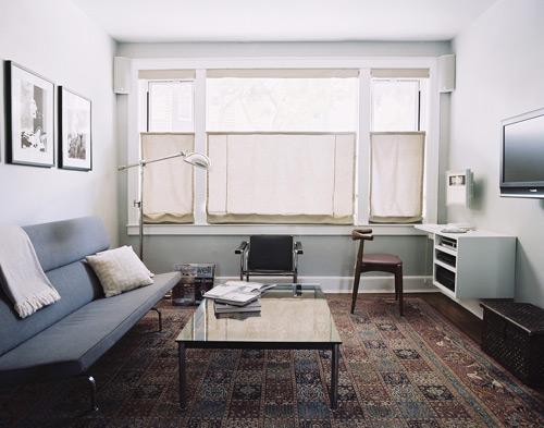 Dùng thảm trải sàn để khắc phục sàn nhà chung cư xấu