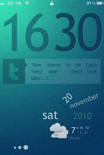 HD themes for Cydia