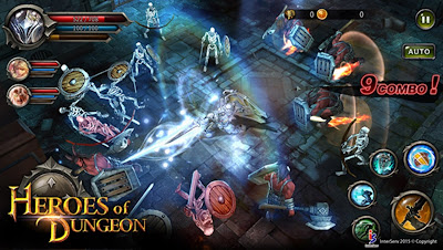 Heroes of the Dungeon v5.0.0 Mod Apk (God Mode)