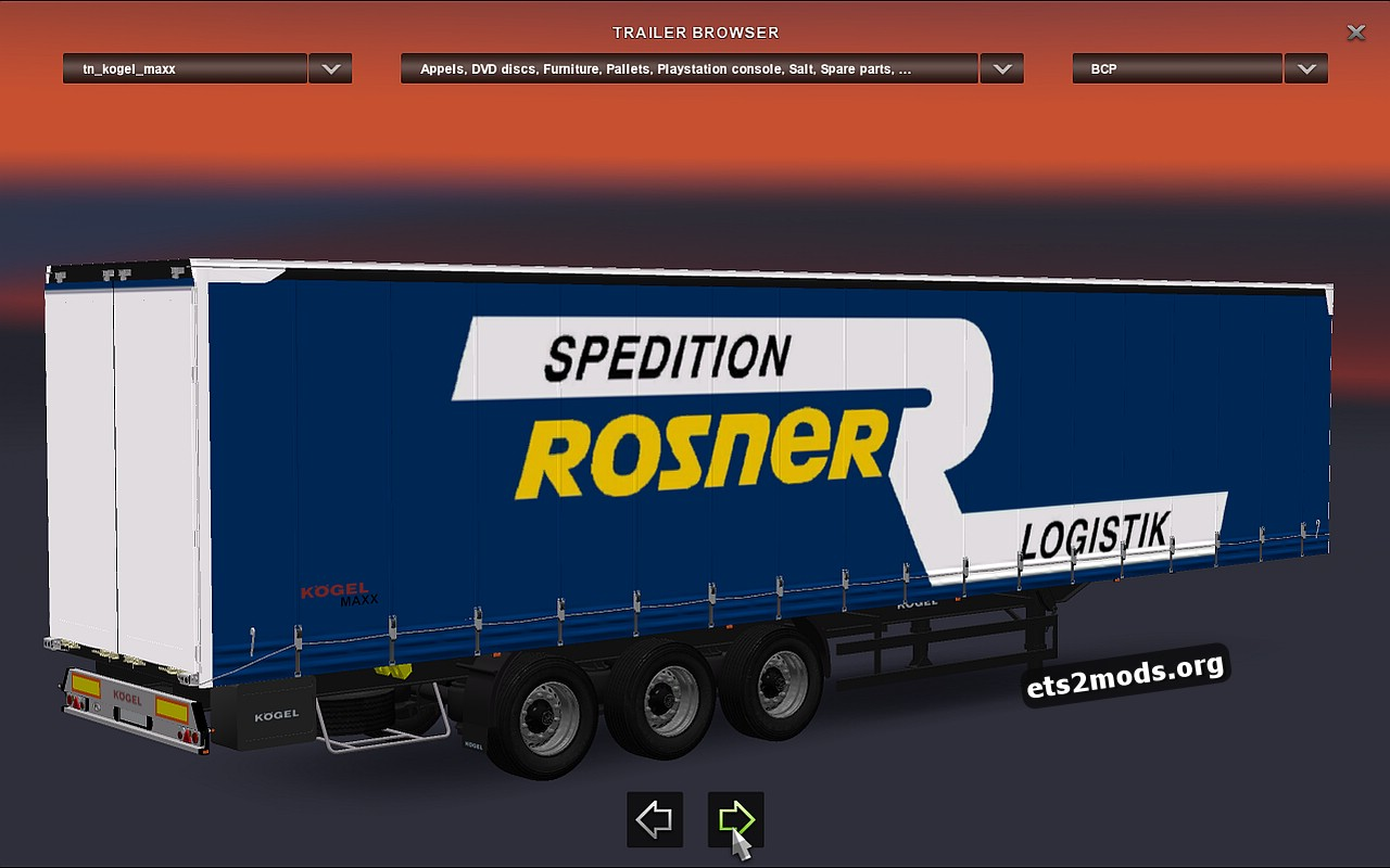 Trailers Pack Kogel