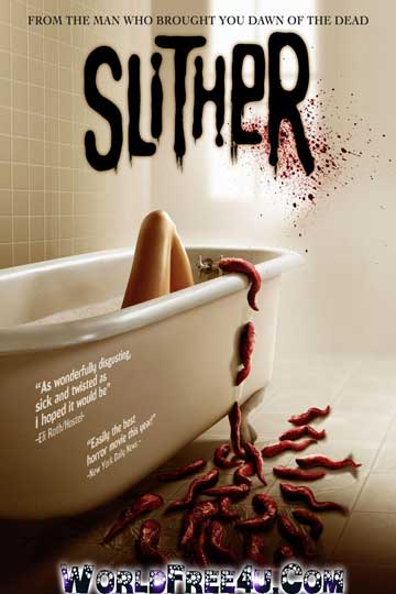 Poster Of Slither (2006) In Hindi English Dual Audio 300MB Compressed Small Size Pc Movie Free Download Only At worldfree4u.com