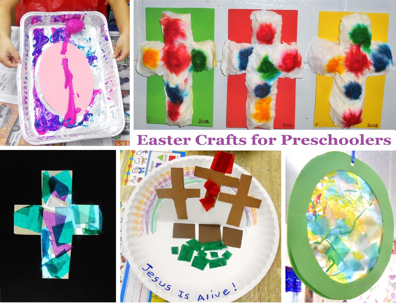 Princesses Pies Preschool Pizzazz 4 Easter Crafts For Preschoolers
