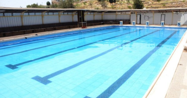 Swimming Pool Bank : The olympic sized swimming pools in west bank that