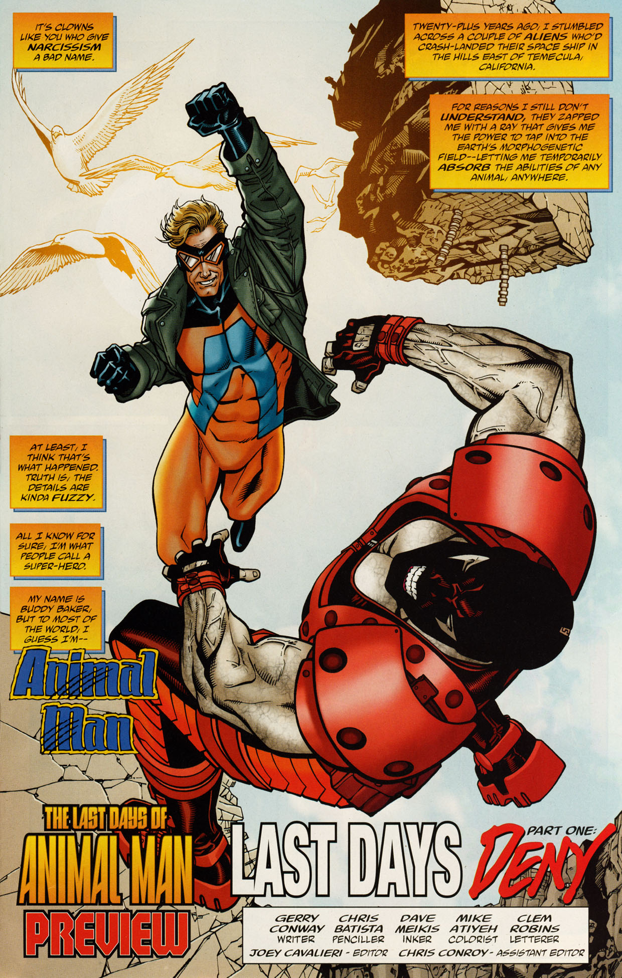 Read online Trinity (2008) comic -  Issue #46 - 28